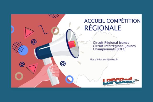 Accueil d'une compétition régionale 2021-2022