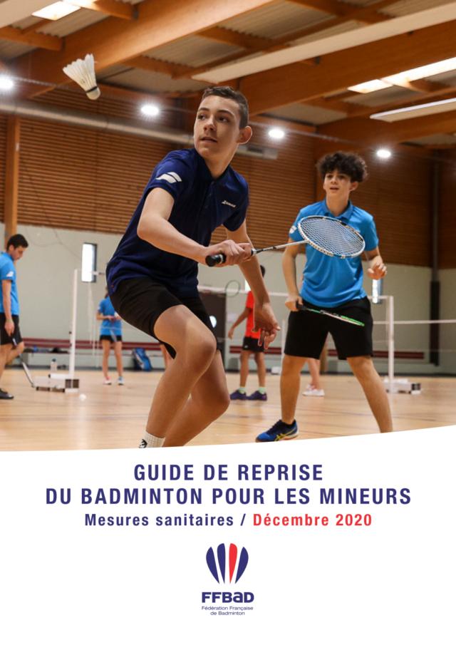 Reprise du badminton pour les mineurs le 15 décembre 2020