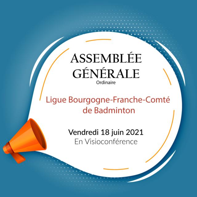 Assemblée Générale 18 Juin 2021