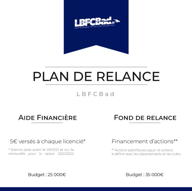 Plan de Relance LBFCBad