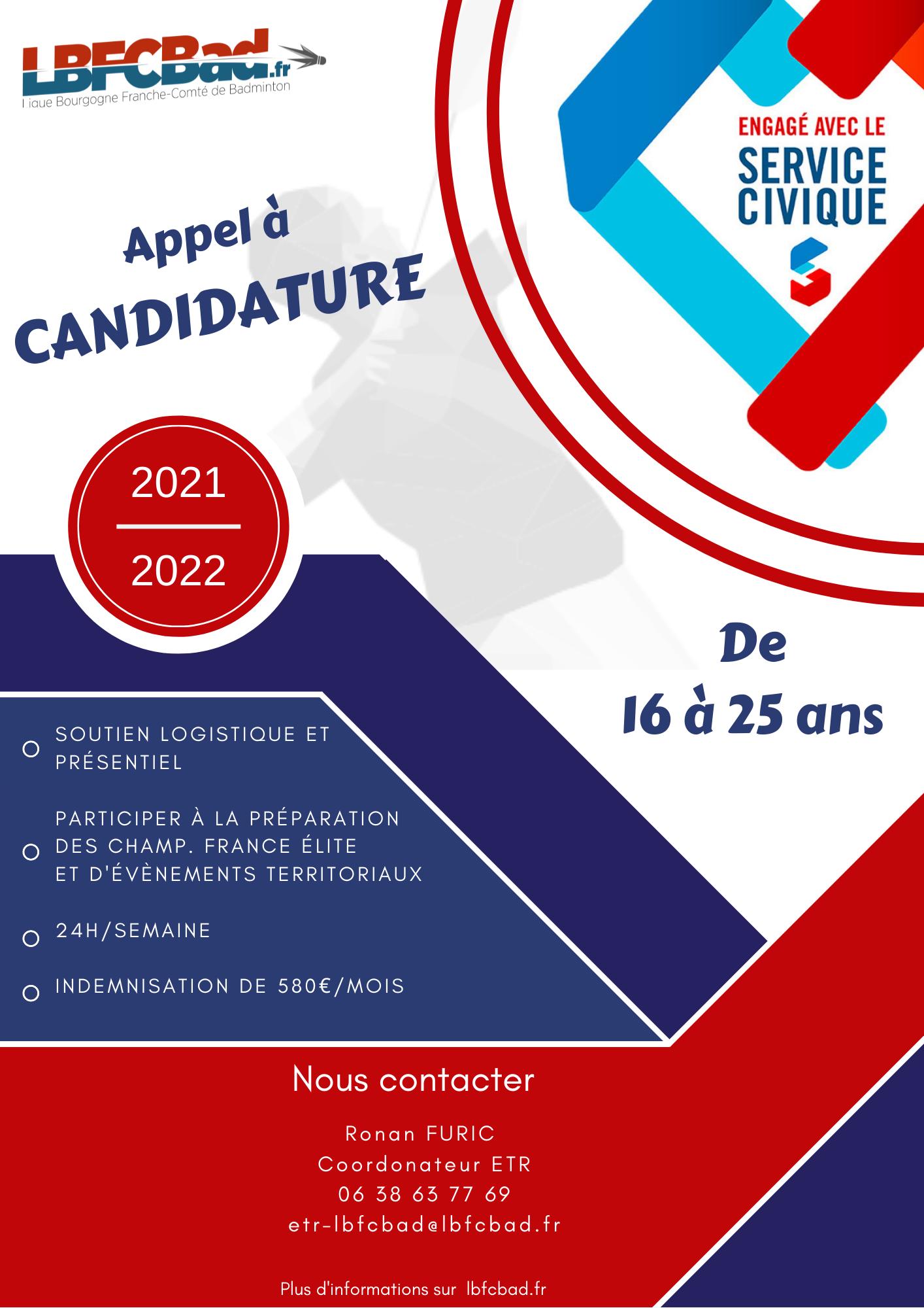 Service civique 2021-2022